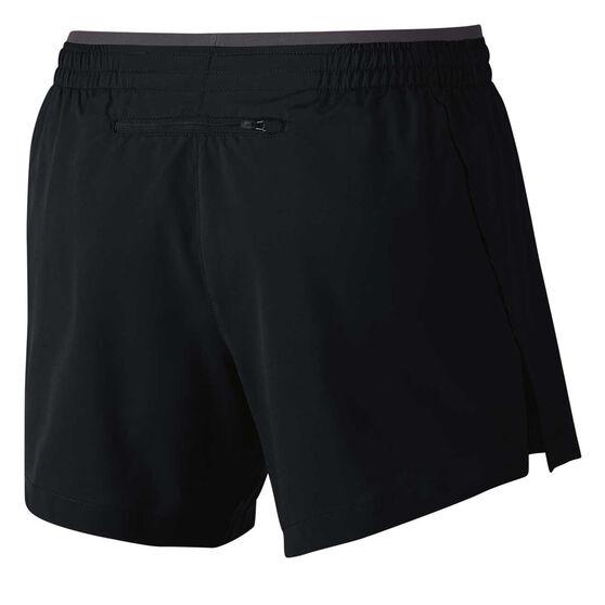 Nike Womens Flex Elevate 5in Running Shorts Black / Grey XL, Black / Grey, rebel_hi-res