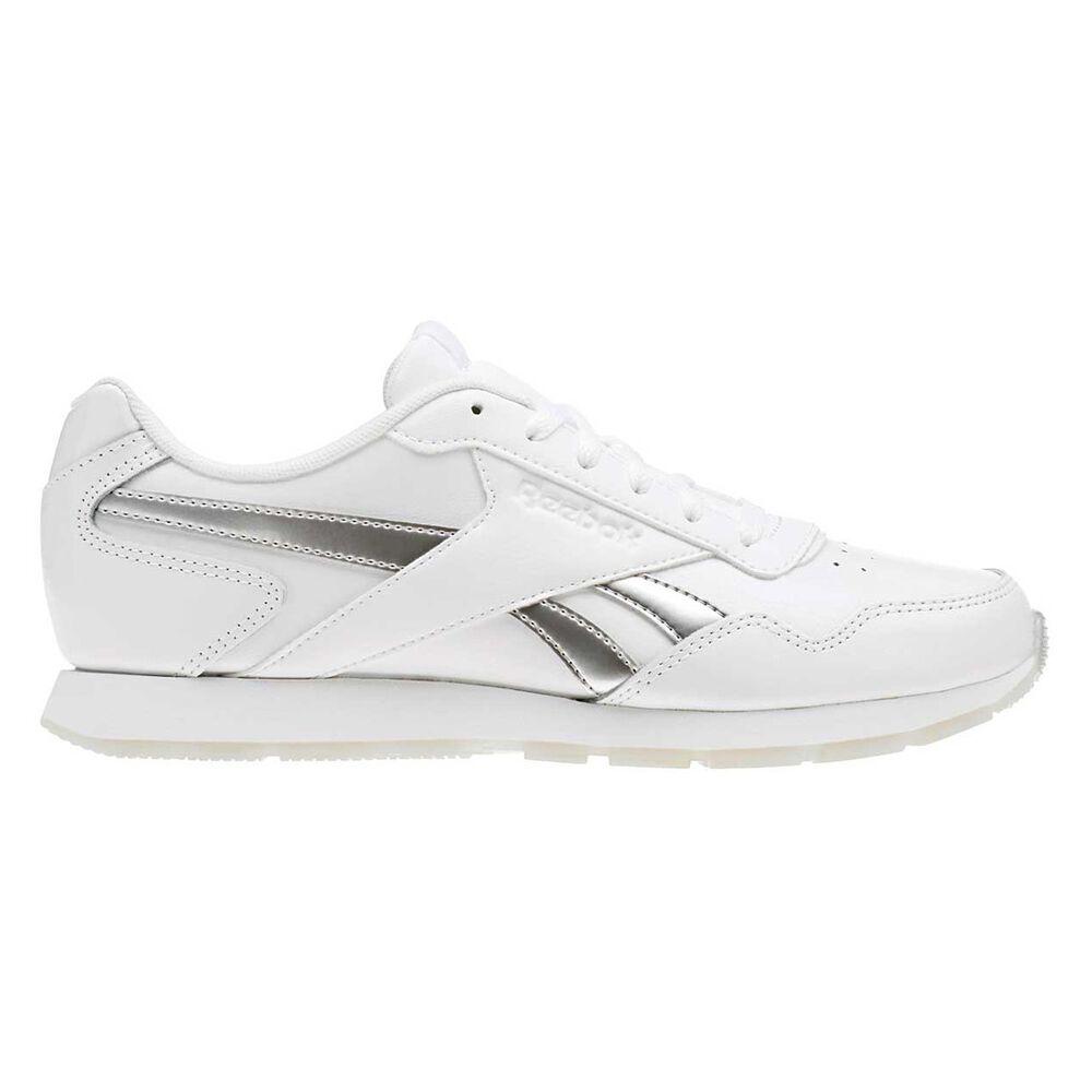 731f59b6d8b Reebok Royal Glide Womens Casual Shoes White   Silver US 6