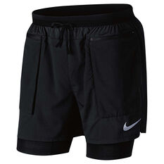 Nike Mens Flex Stride Running Shorts Black S, Black, rebel_hi-res