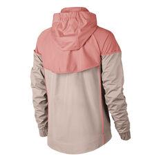 Nike Sportswear Womens Windrunner Jacket Peach XS, Peach, rebel_hi-res