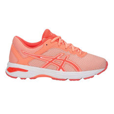 Asics GT 1000 6 GS Girls Running Shoes Apricot US 1, Apricot, rebel_hi-res