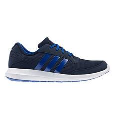 adidas Element Refresh Mens Running Shoes Navy / White US 7, Navy / White, rebel_hi-res