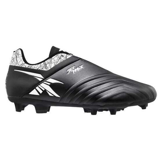XBlades Jet Max Football Boots, Black/White, rebel_hi-res