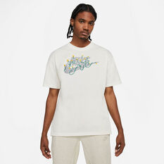 Nike Mens Sportswear Graphic Tee White XS, White, rebel_hi-res