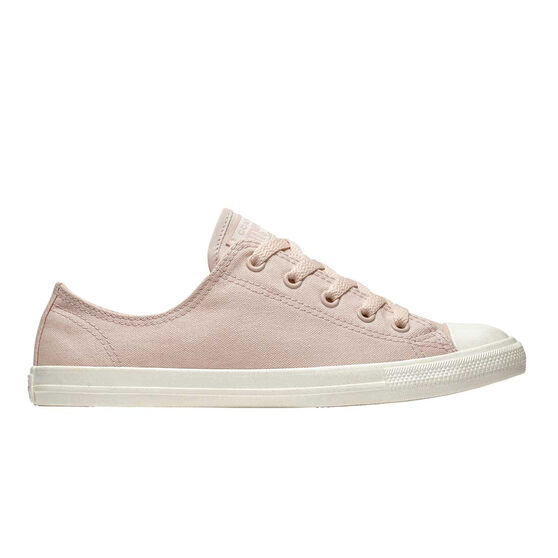 Converse Cuck Taylor All Star Dainty Ox Womens Casual Shoes, Pink / White, rebel_hi-res