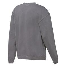 Mitchell & Ness Mens Toronto Raptors Vince Carter Vinsanity Sweatshirt Grey S, Grey, rebel_hi-res