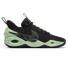 Nike Cosmic Unity Basketball Shoes Navy/Green US 7, Navy/Green, rebel_hi-res