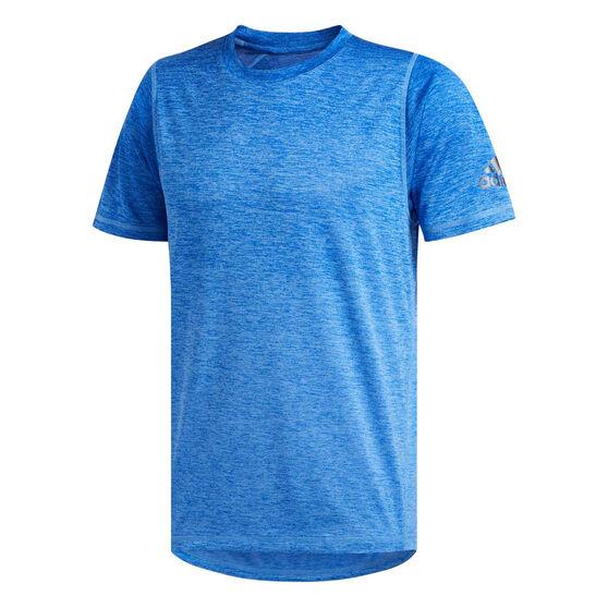 adidas Mens FreeLift 360 Graphic Training Tee, Blue, rebel_hi-res