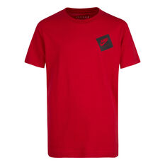 Nike Boys SS Graphic Tee Red S, Red, rebel_hi-res