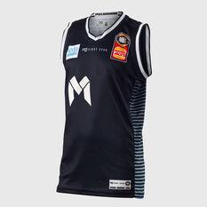 Melbourne United 2018 / 19 Kids Home Jersey Navy 8, Navy, rebel_hi-res