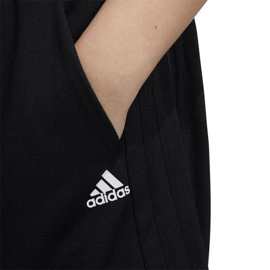 adidas Womens Lightweight Shorts, Black, rebel_hi-res