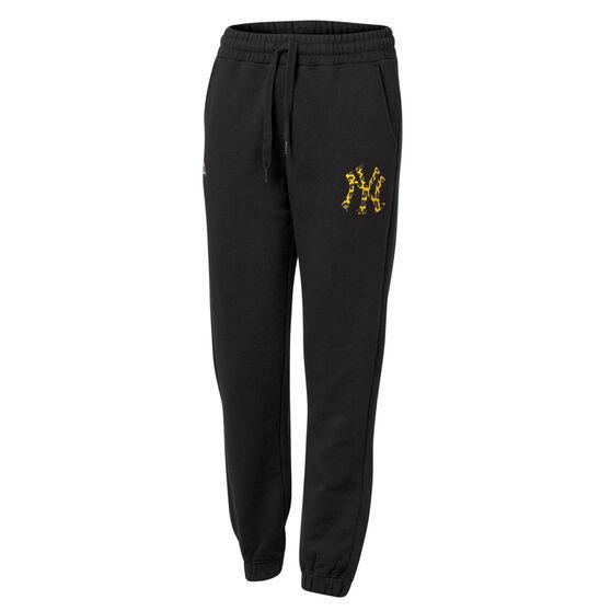 Majestic Womens New York Yankees Animal Player Overdye Pants, Black, rebel_hi-res