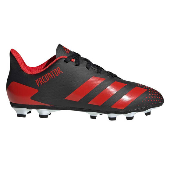 adidas Predator 20.4 Kids Football Boots, Black / White, rebel_hi-res