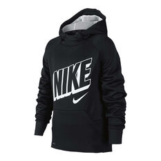 0ec76c7dd Nike Boys Therma Hoodie Black / White XS, , rebel_hi-res