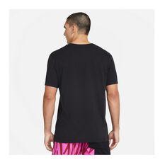 Nike Mens Just Do It Verbiage Training Tee Black S, Black, rebel_hi-res