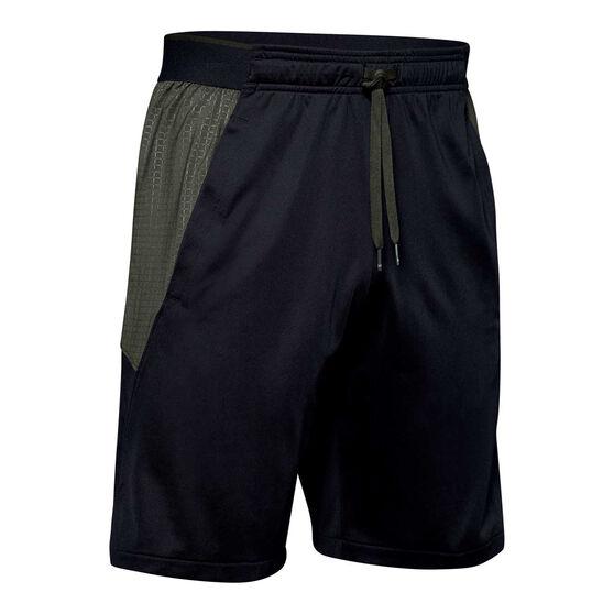 Under Armour Mens MK-1 Emboss Shorts Black S, Black, rebel_hi-res