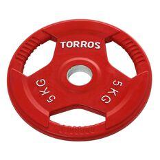 Torros 5kg Olympic Plate, , rebel_hi-res