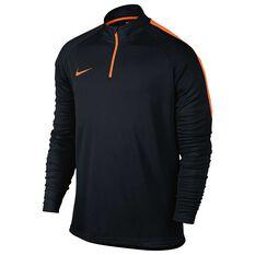 Nike Mens Dry Academy Football Drill Top Black S Adults, Black, rebel_hi-res