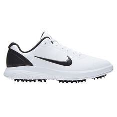Nike Infinity G Golf Shoes White/Black US 7, White/Black, rebel_hi-res