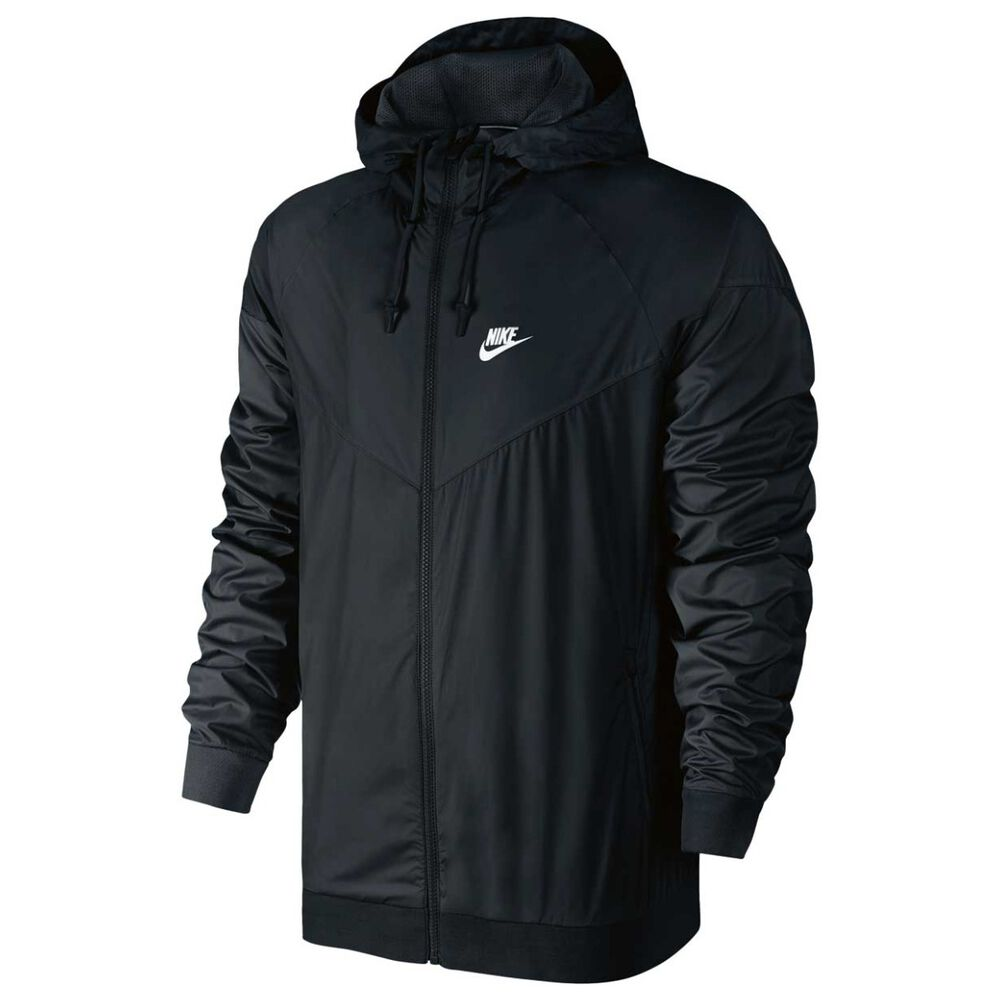 43bc739bc509 Nike Mens Windrunner Jacket Black   White M adult