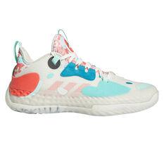 adidas Harden Vol. 5 Futurenatural Basketball Shoes White US 7, White, rebel_hi-res