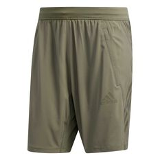 adidas Mens AEROREADY 3-Stripes Shorts Green S, Green, rebel_hi-res