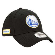 Golden State Warriors New Era 9FORTY Back Half Stretch Snap Cap Black S / M S / M, Black, rebel_hi-res