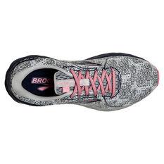 Brooks Adrenaline GTS 21 Womens Running Shoes, White/Navy, rebel_hi-res