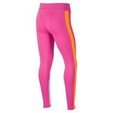 Nike Girls Trophy Training Tights Pink M, Pink, rebel_hi-res