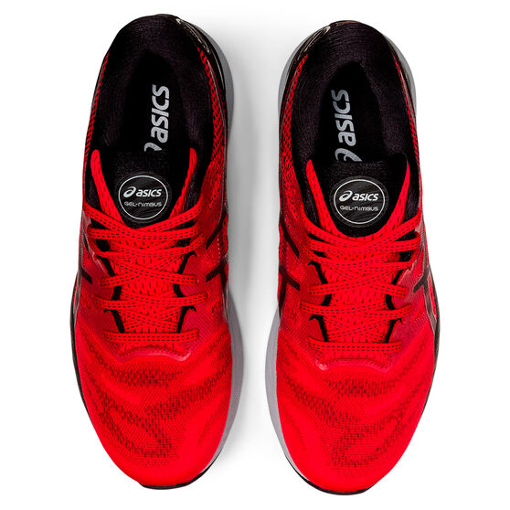 Asics GEL Nimbus 23 Mens Running Shoes, Red/Black, rebel_hi-res