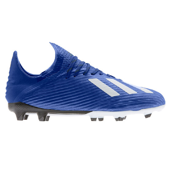 adidas X 19.1 Kids Football Boots, Blue / White, rebel_hi-res