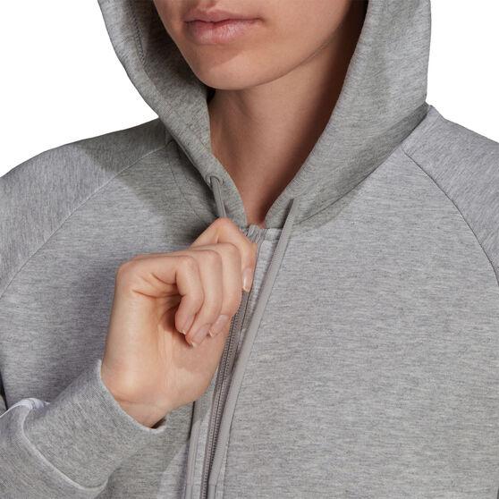 adidas Womens Sportswear Future Icons 3-Stripes Hoodie, Grey, rebel_hi-res