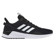 adidas Questar Ride Mens Running Shoes, Black / White, rebel_hi-res