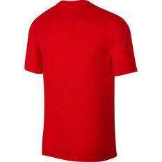 Nike Mens Sportswear Just Do It Tee Red XS, Red, rebel_hi-res