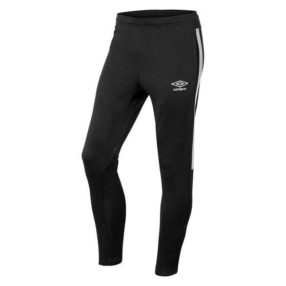 Umbro Teamwear Track Pants, Black / White, rebel_hi-res