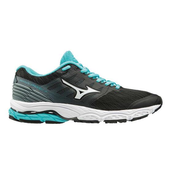 Mizuno Wave Prodigy 2 Womens Running Shoes, Black, rebel_hi-res