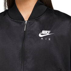 Nike Air Womens Jacket, Black, rebel_hi-res