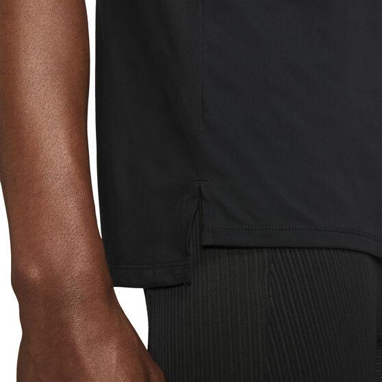 Nike Mens Dri-FIT Rise 365 Tee, Black, rebel_hi-res