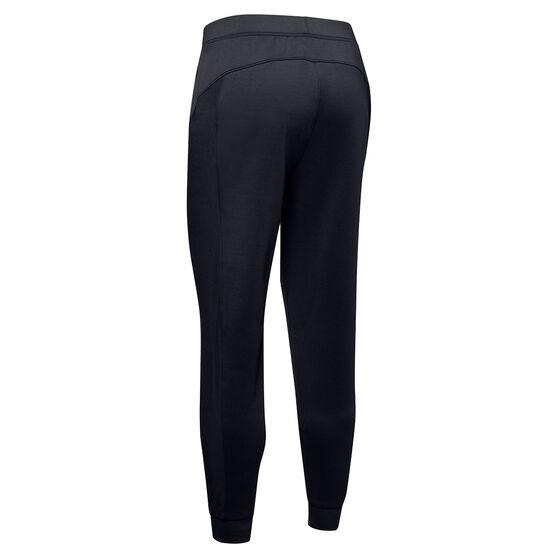 Under Armour Womens ColdGear Armour Hybrid Track Pants, Black, rebel_hi-res