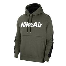 Nike Air Mens Fleece Hoodie, Khaki, rebel_hi-res