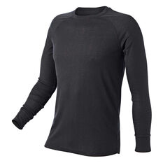 Tahwalhi Mens Peak Thermal Long Sleeve Top Grey S, Grey, rebel_hi-res