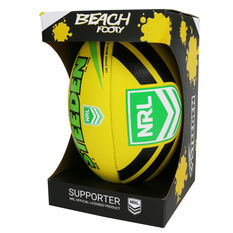 Steeden NRL Neon Beach Rugby League Ball, , rebel_hi-res