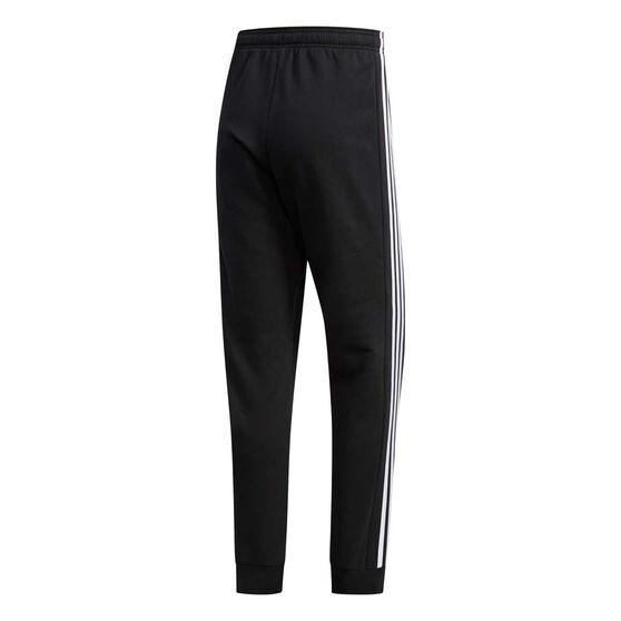 adidas Mens Essentials Colourblock Pants Black S, Black, rebel_hi-res