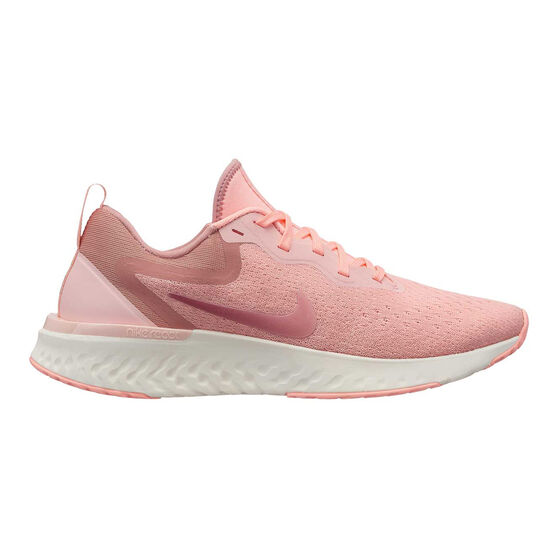 Nike Odyssey React Womens Running Shoes, Pink / Orange, rebel_hi-res