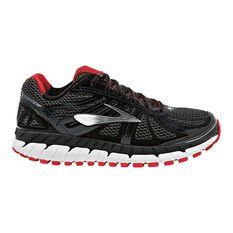 Brooks Beast 16 Mens Running Shoes Black / Red US 8, Black / Red, rebel_hi-res