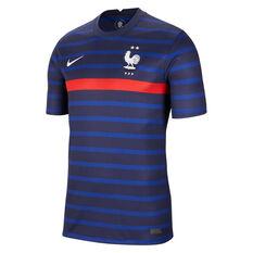 France 2020 Mens Stadium Home Jersey Blue S, Blue, rebel_hi-res