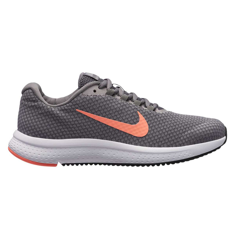 9fbd749353 Nike RunAllDay Womens Running Shoes Grey   Pink US 6