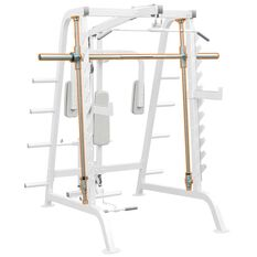 Impulse Fitness Half Cage Smith Attachment, , rebel_hi-res