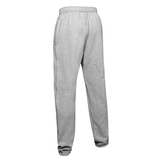 Under Armour Mens Project Rock Warmup Pants, Grey, rebel_hi-res