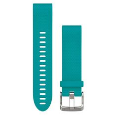 Garmin Fenix 5S QuickFit Silicone Band Turquoise 20mm, , rebel_hi-res